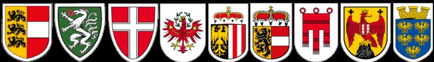 Gürtel mit dem Wappen deines Bundeslandes